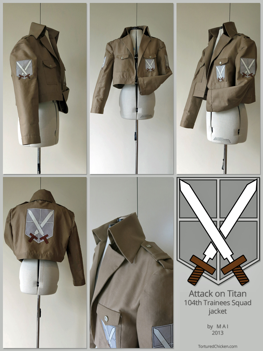Attack on Titan, 104th Trainees Squad - jacket