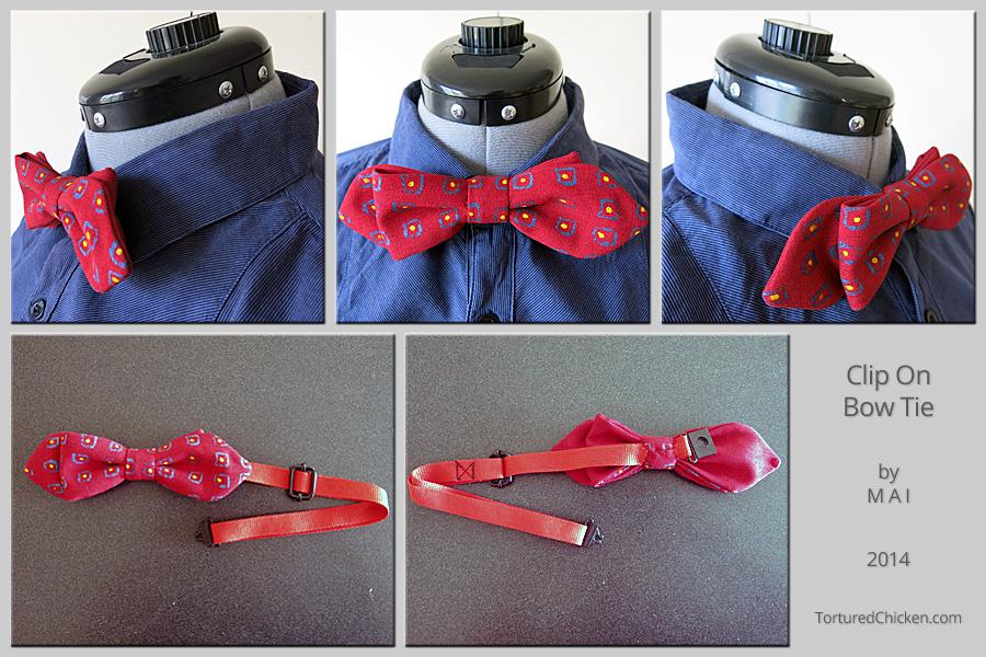 clip-on bow-tie