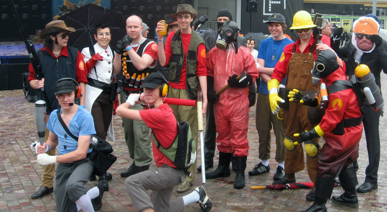 TF2 at Cosgame 2012