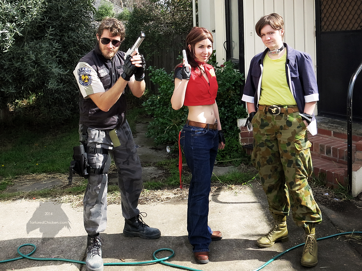 Resident Evil - Code: Veronica group