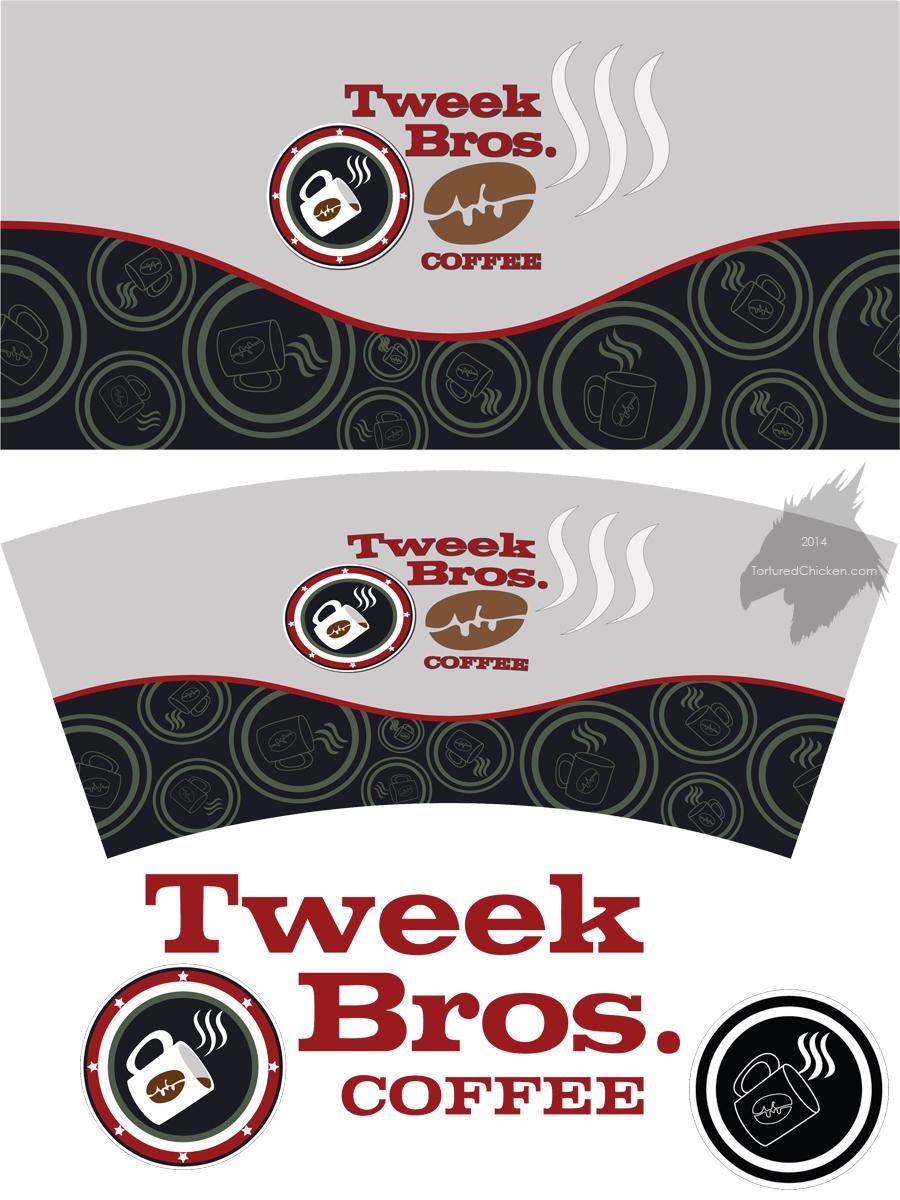 Tweek Bros. Coffee label