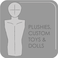 Plushies, Custom Toys and Dolls